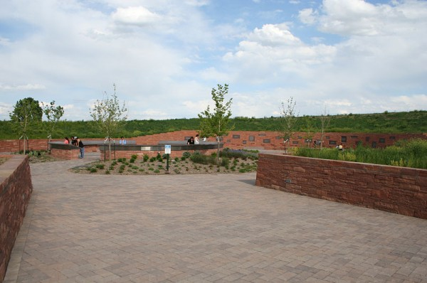 The Columbine Memorial at Clement Park