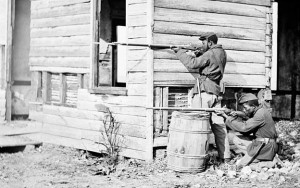 (5) USCT soldiers at Dutch Gap